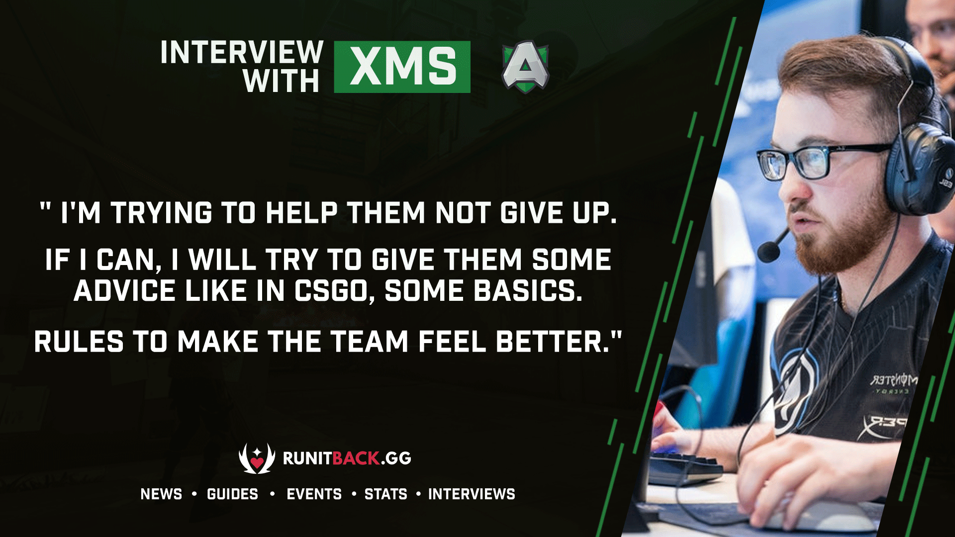 xms on wanting to be a mentor at Alliance, mistakes against Guild, and coming into Valorant from CSGO