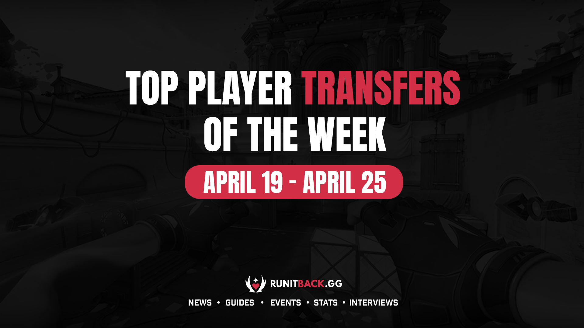 Top Player Transfers of the Week: April 19 – April 25