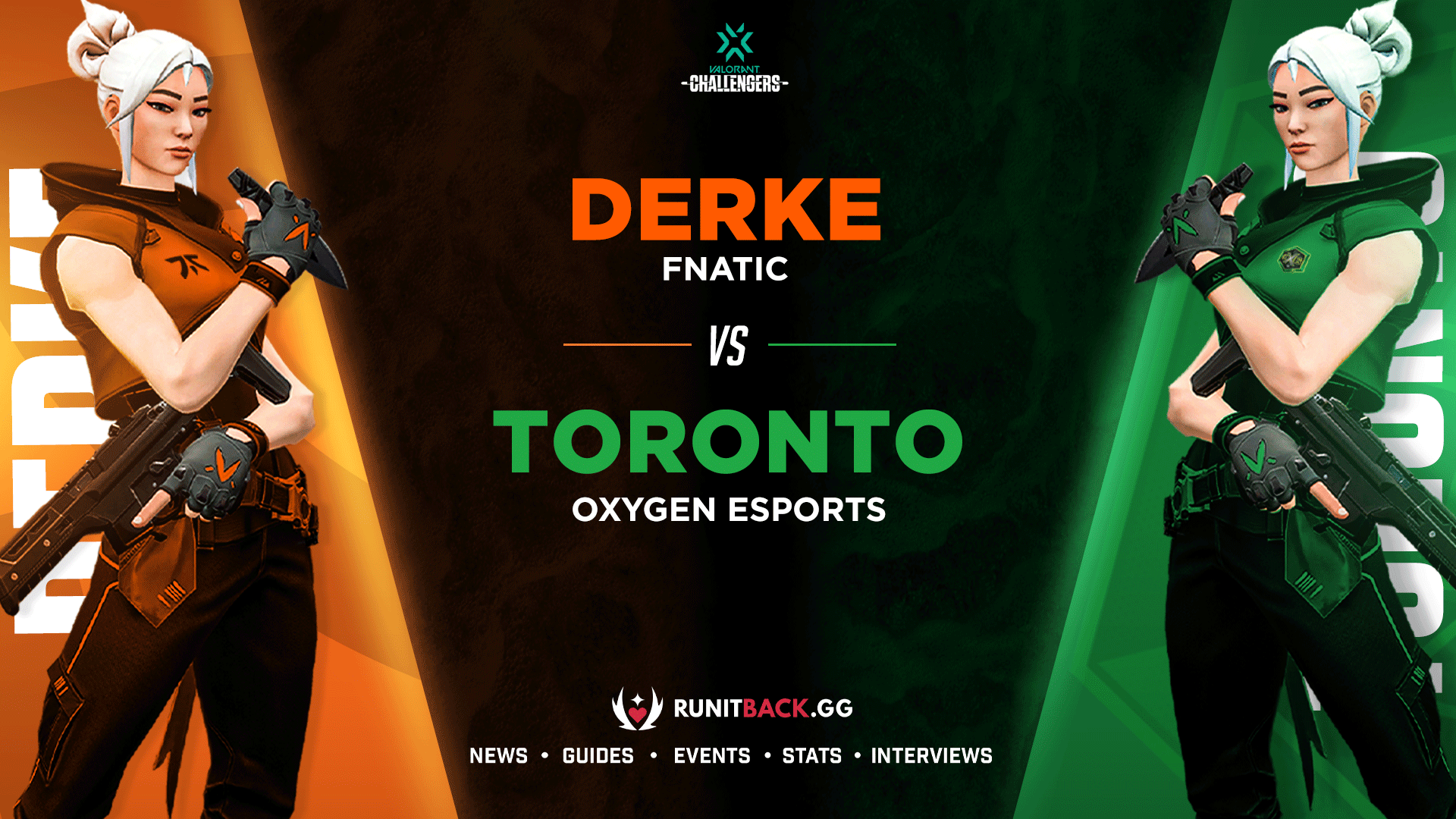 How does a Jett on the Vandal compare to a Jett on the Operator? Fnatic Derke vs Oxygen Toronto