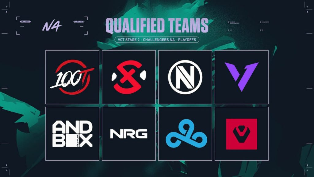 NA teams at VCT Challengers Playoffs