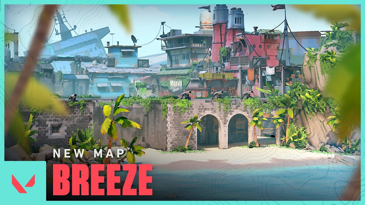 Breeze: The newest curveball of Valorant's map pool