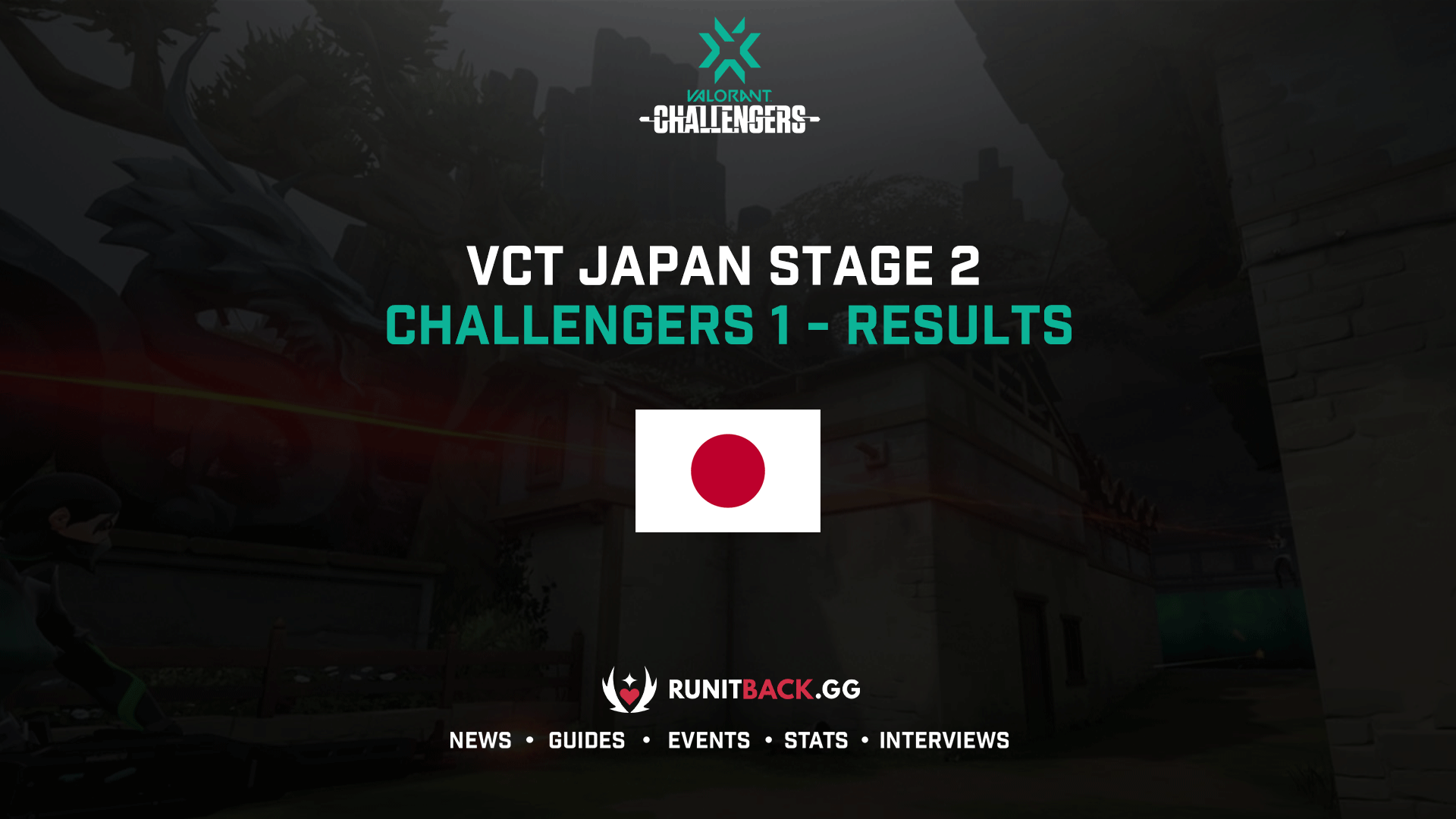 VCT Japan Stage 2 Challengers 1 Results