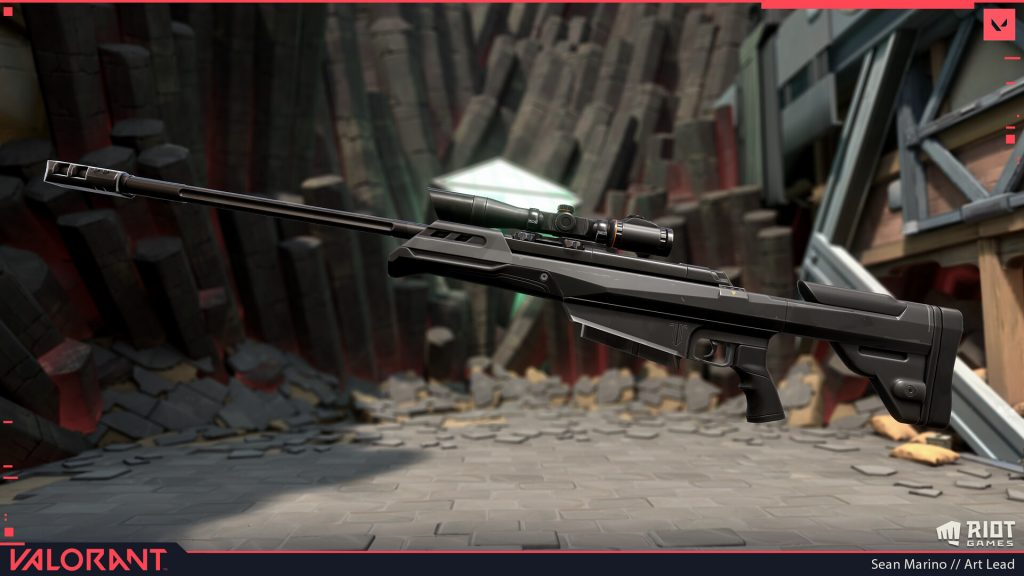 OP rifle in Valorant