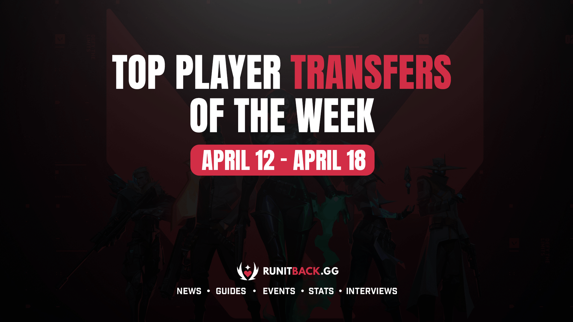 Top Player Transfers of the Week: April 12 – April 18