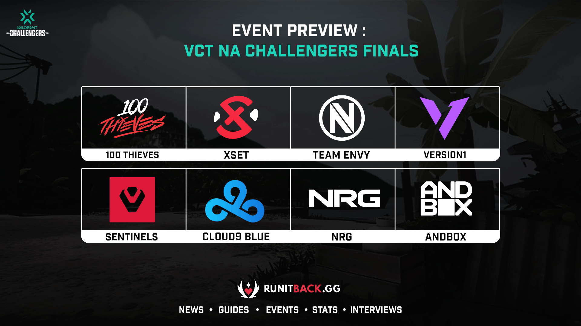 VCT NA Challengers Finals Preview