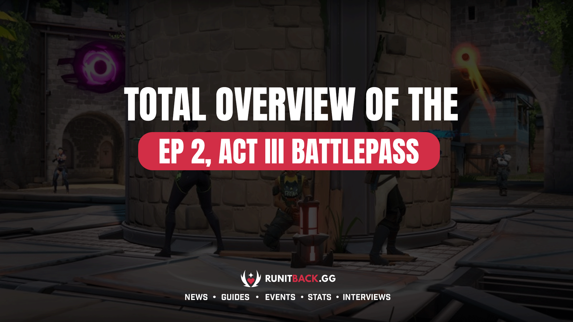 Total Overview of the Ep 2, Act III Battlepass