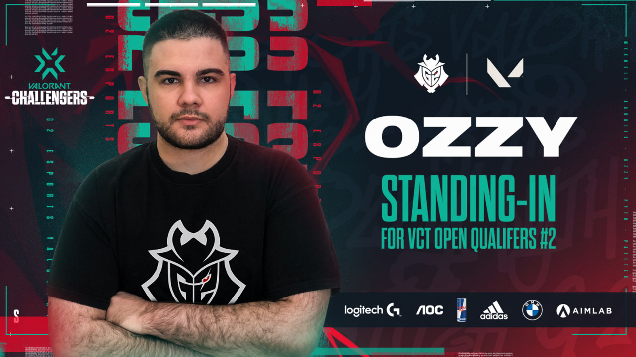 G2 Esports acquires ozzy as stand-in and igl
