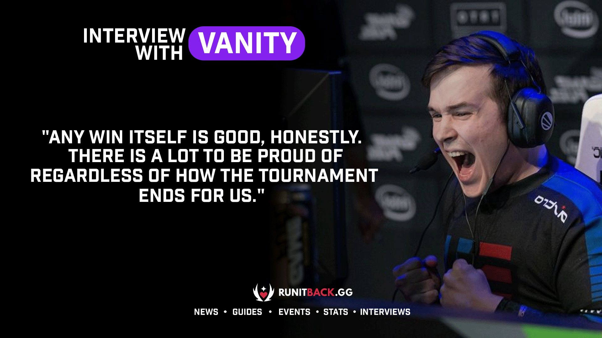 Version1's vanity is proud of team's progress and believes they will keep getting better