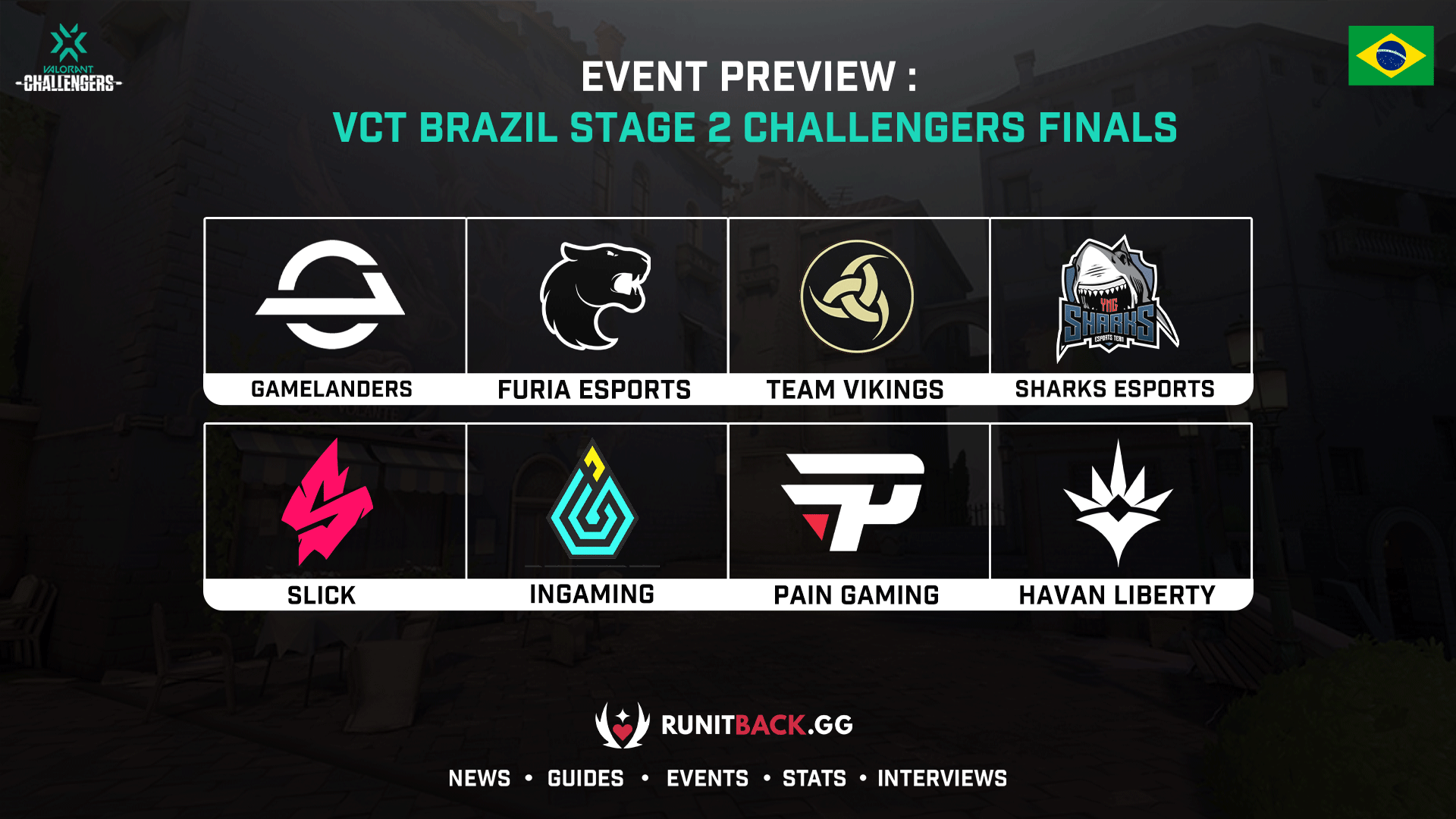 Event Preview: VCT Brazil Stage 2 Challengers Finals