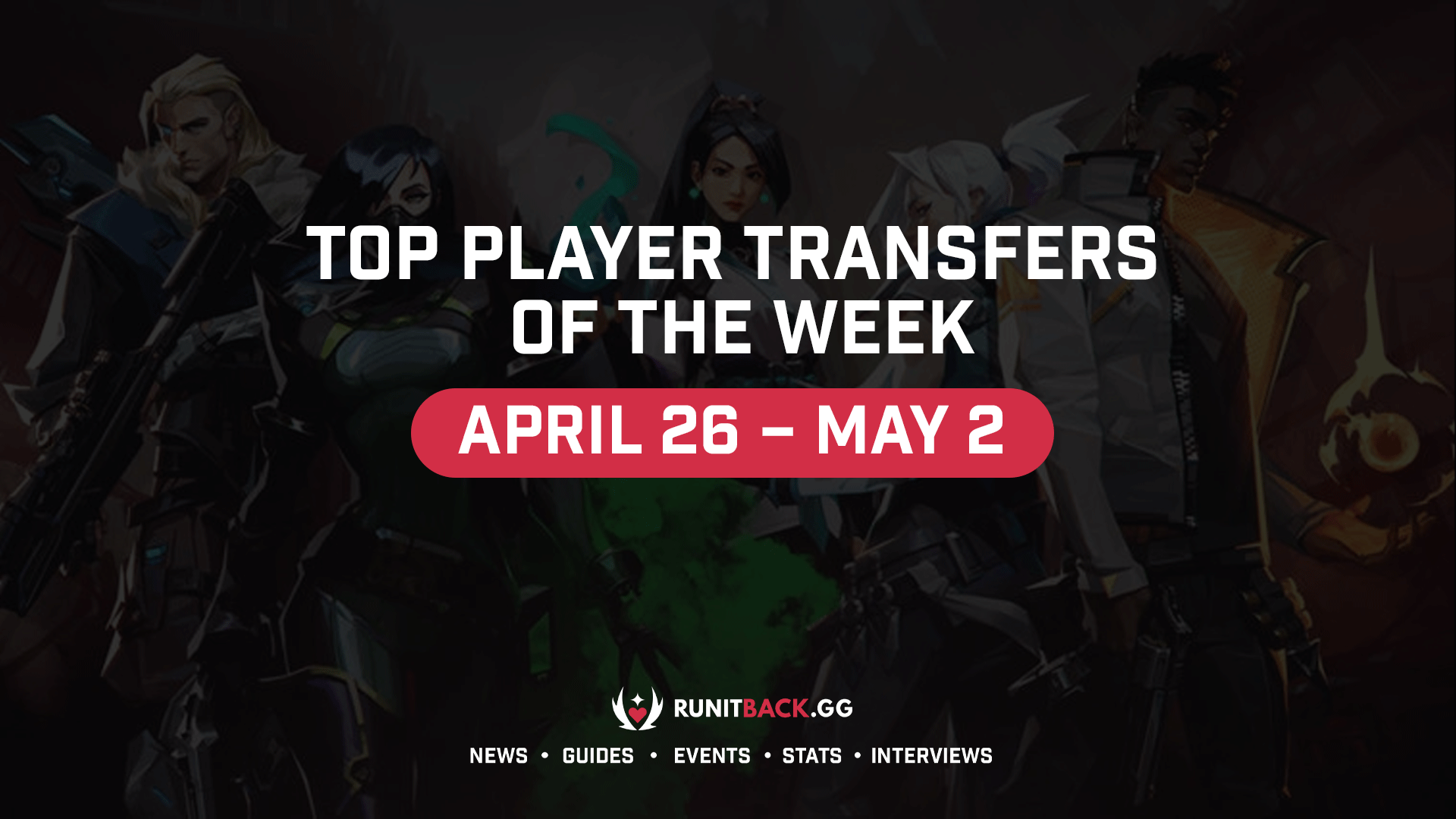 Top Player Transfers of the Week: April 26 – May 2