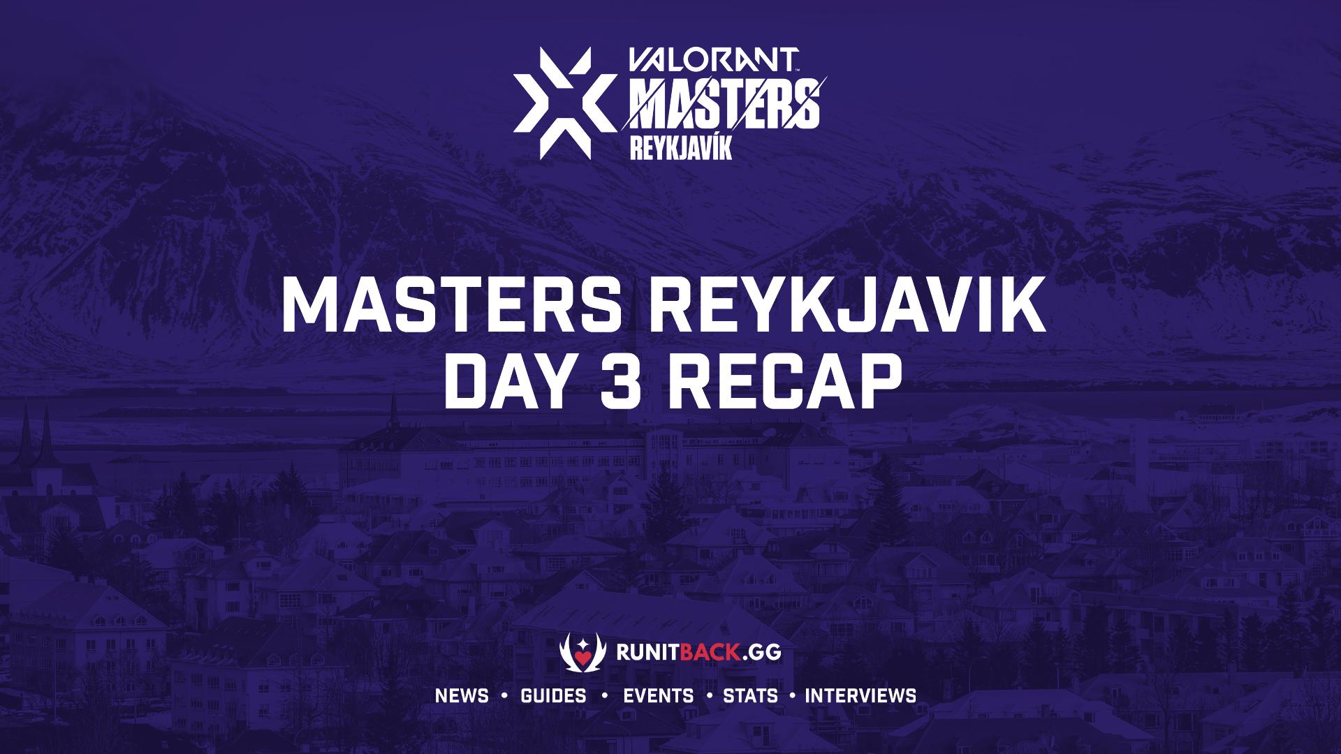 Masters Reykjavik sees first pair of teams eliminated — Day 3 Recap