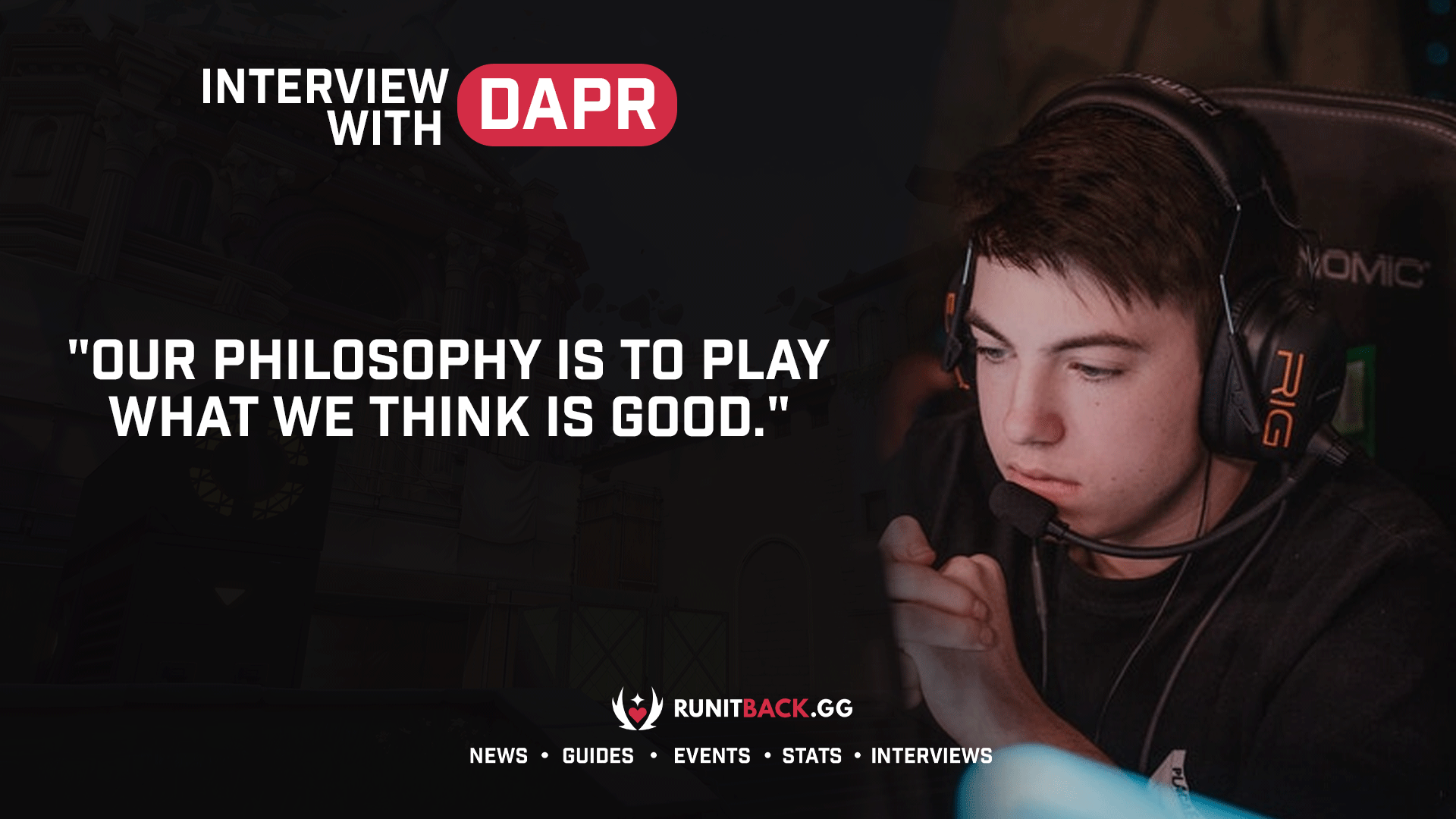 dapr on the current meta, adapting, and wanting to represent NA