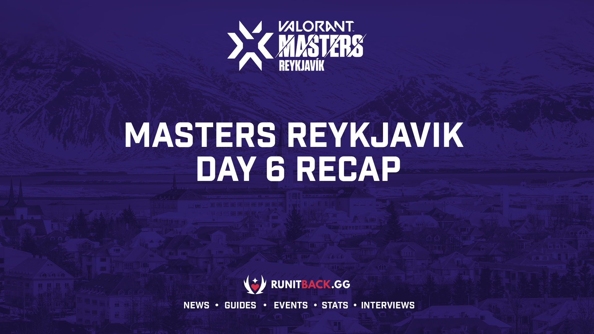Sentinels' Grand Final opponent for Masters Reykjavik has been decided – Day 6 Recap