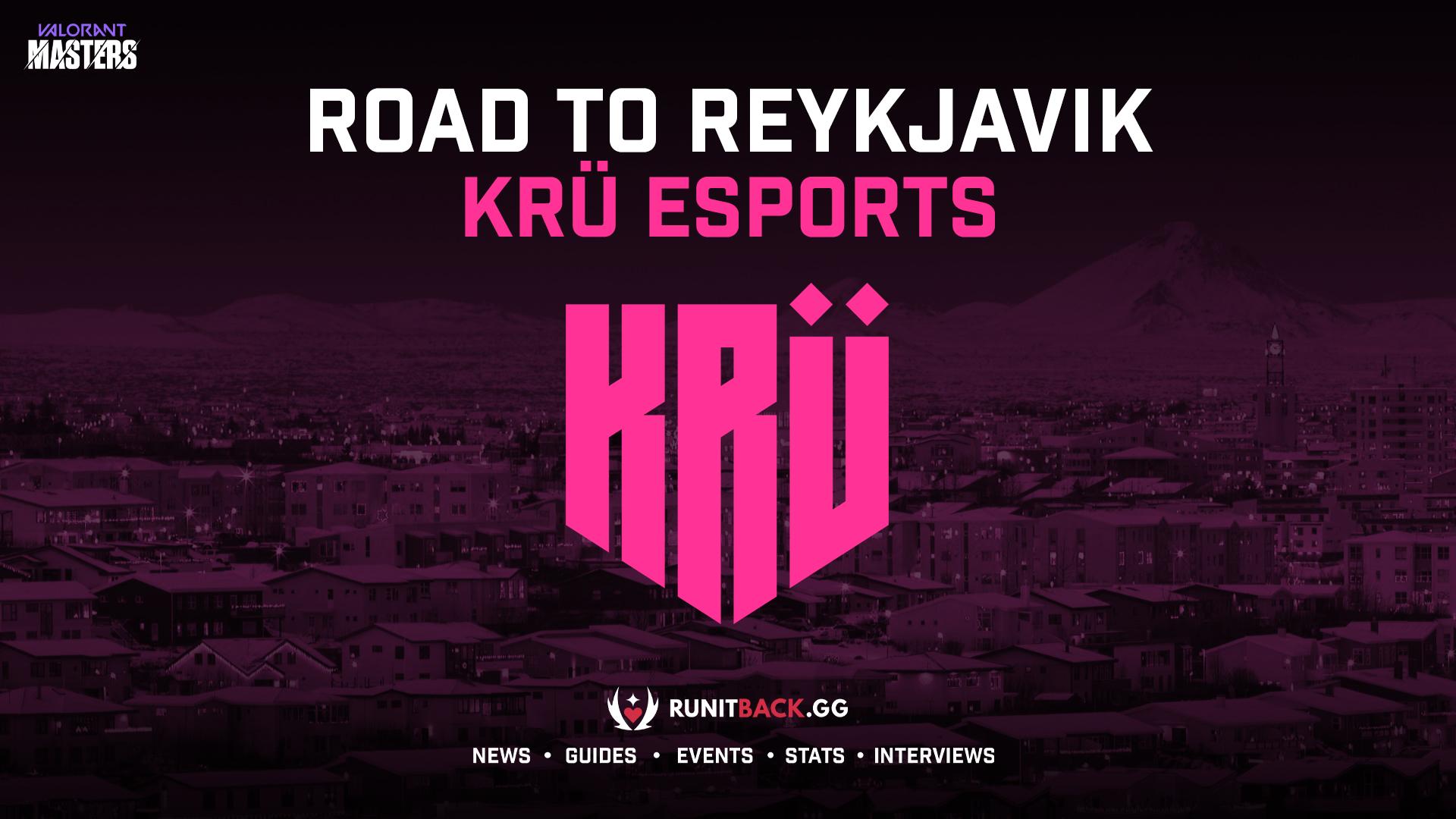 Road to Masters Reykjavik – KRÜ Esports