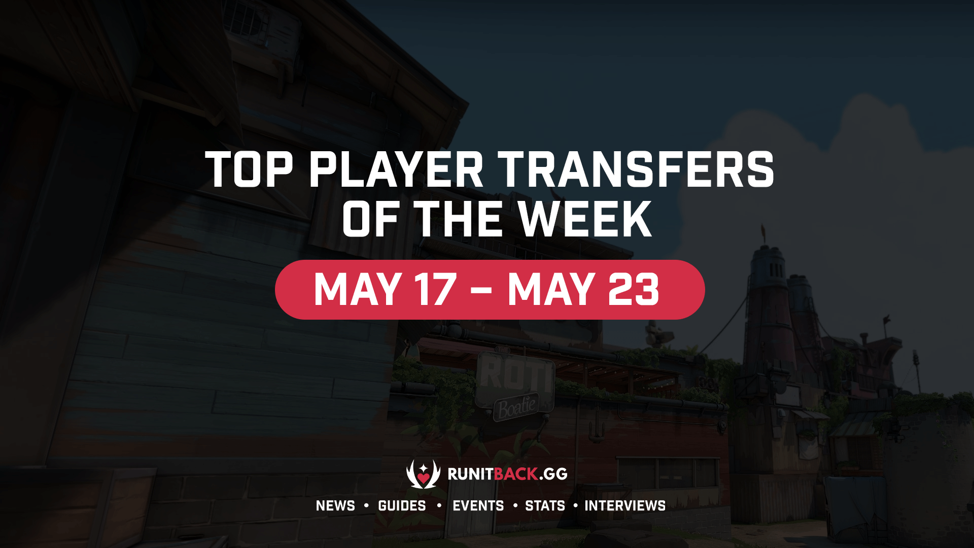 Top Player Transfers of the Week: May 17 – May 23