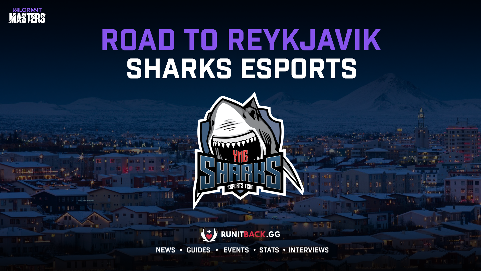 Road to Masters Reykjavik – Sharks Esports