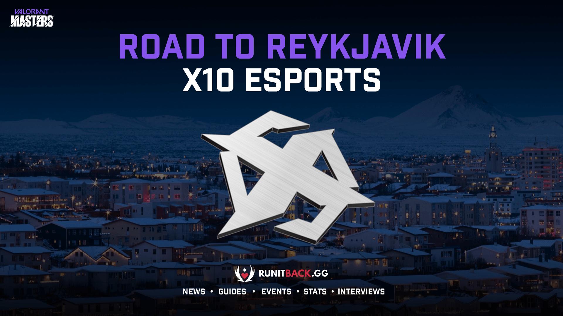 Road to Masters Reykjavik — X10 Esports