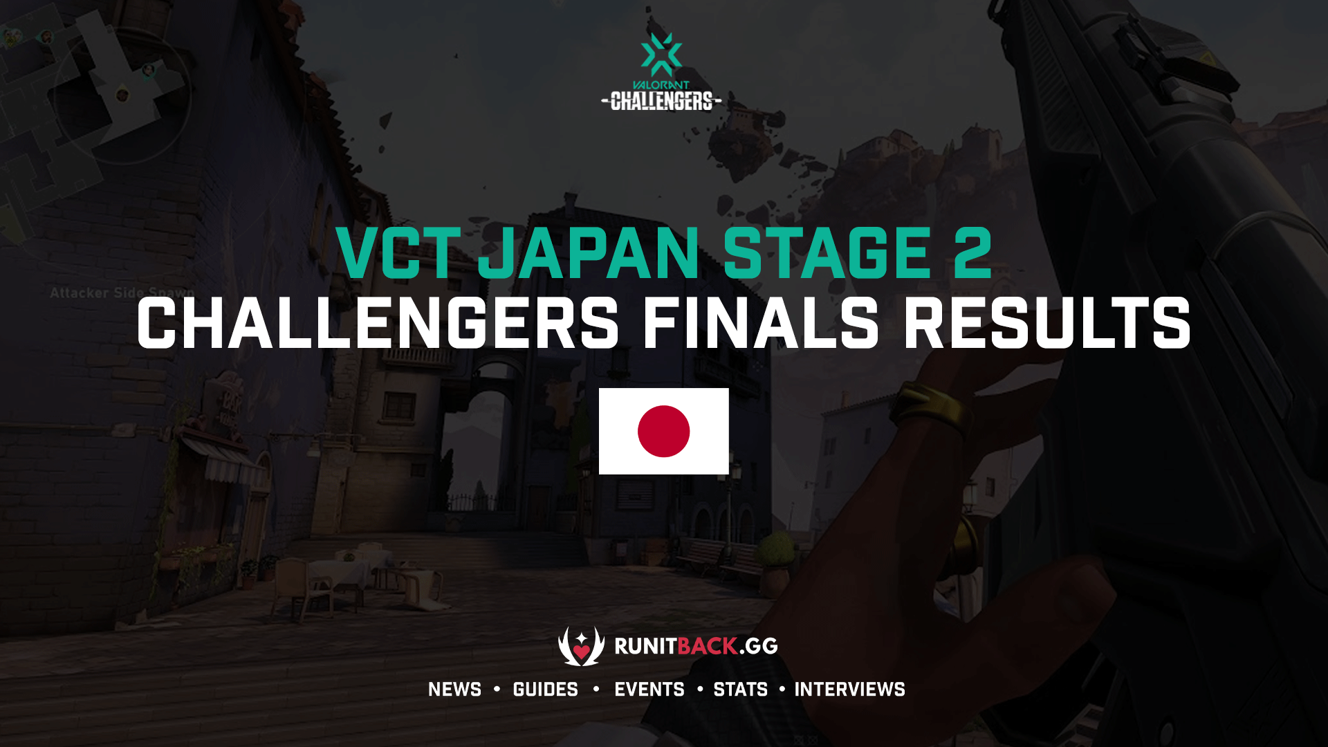 VCT Japan Stage 2 Challengers Finals Results