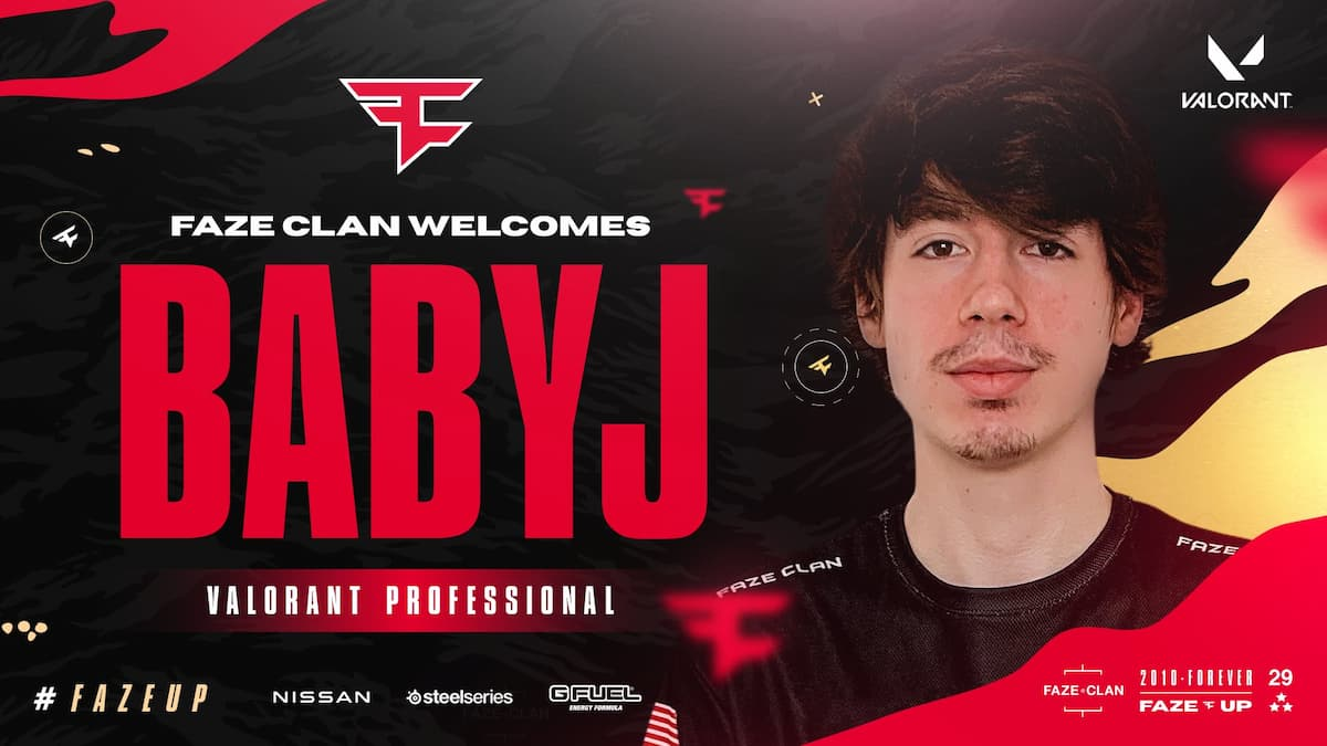 FaZe Clan gets another baby in the form of BabyJ