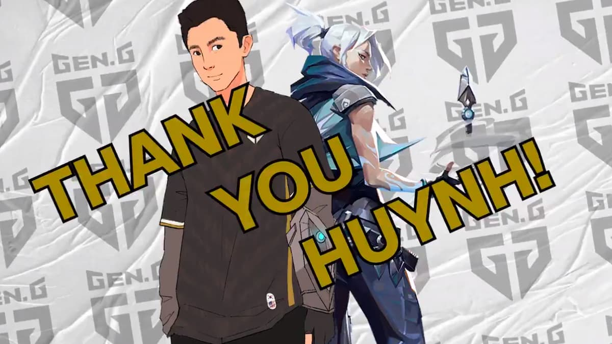 huynh officially released from Gen.G Esports