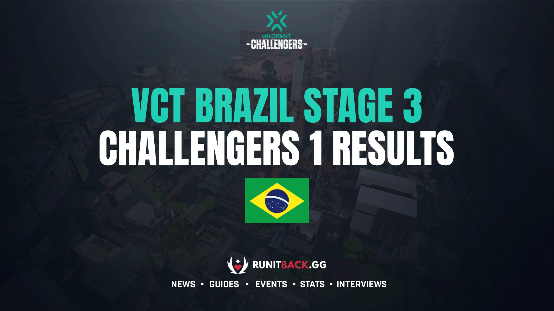 VCT Brazil Stage 3: Challengers 1 Results