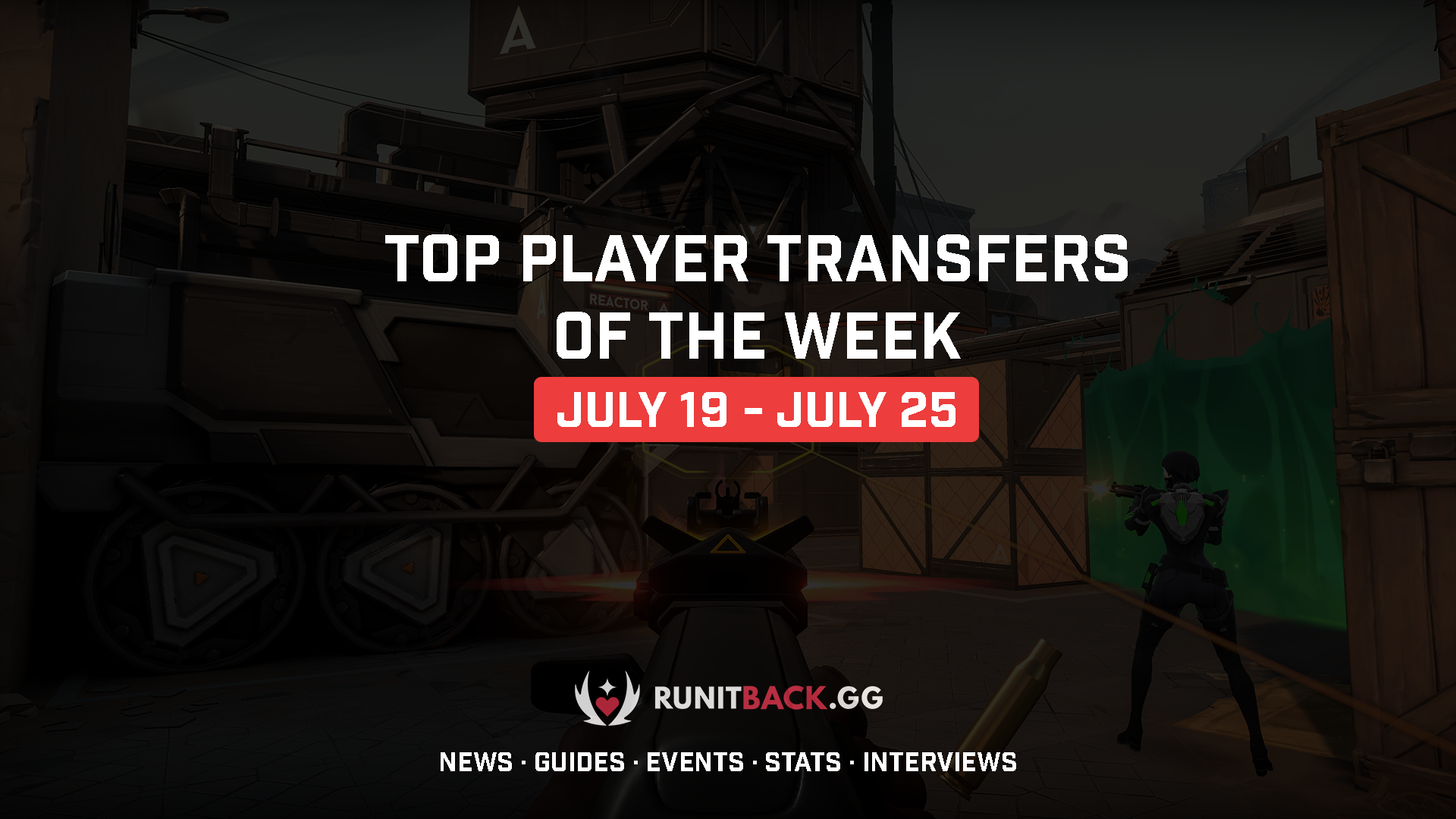 Top Player Transfers of the Week 7/19-7/25