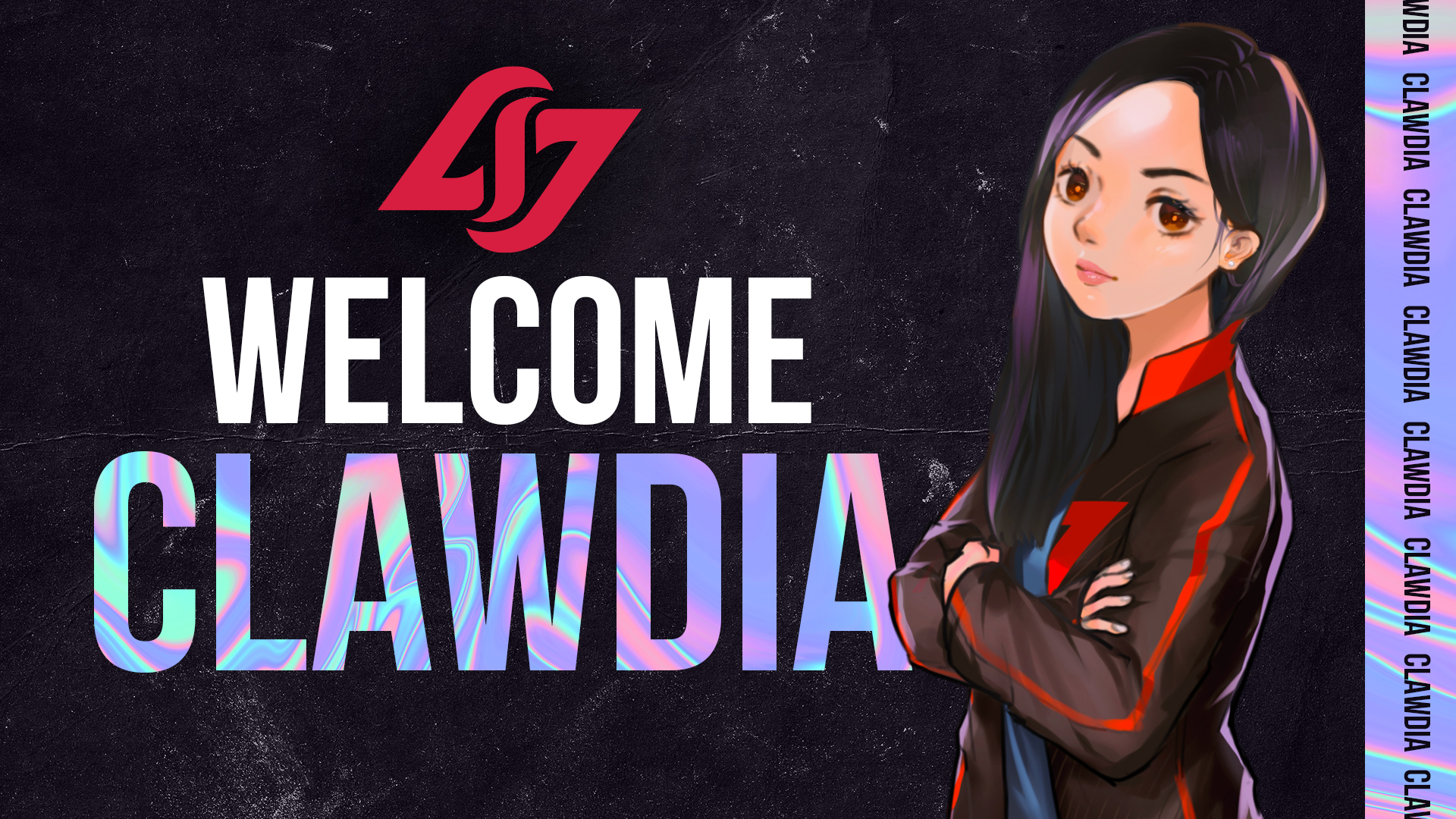 CLG Red signs clawdia to VALORANT roster