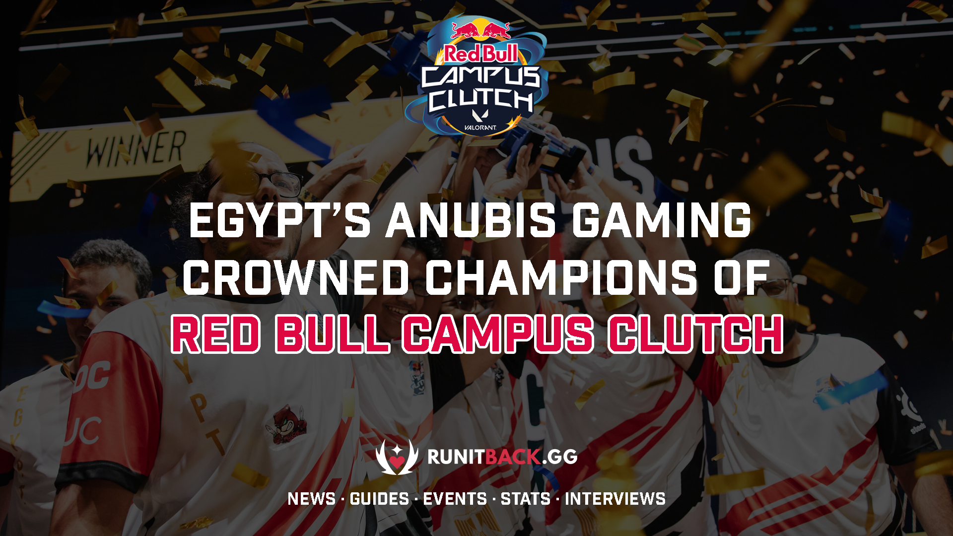 Egypt's Anubis Gaming crowned champions of Red Bull Campus Clutch