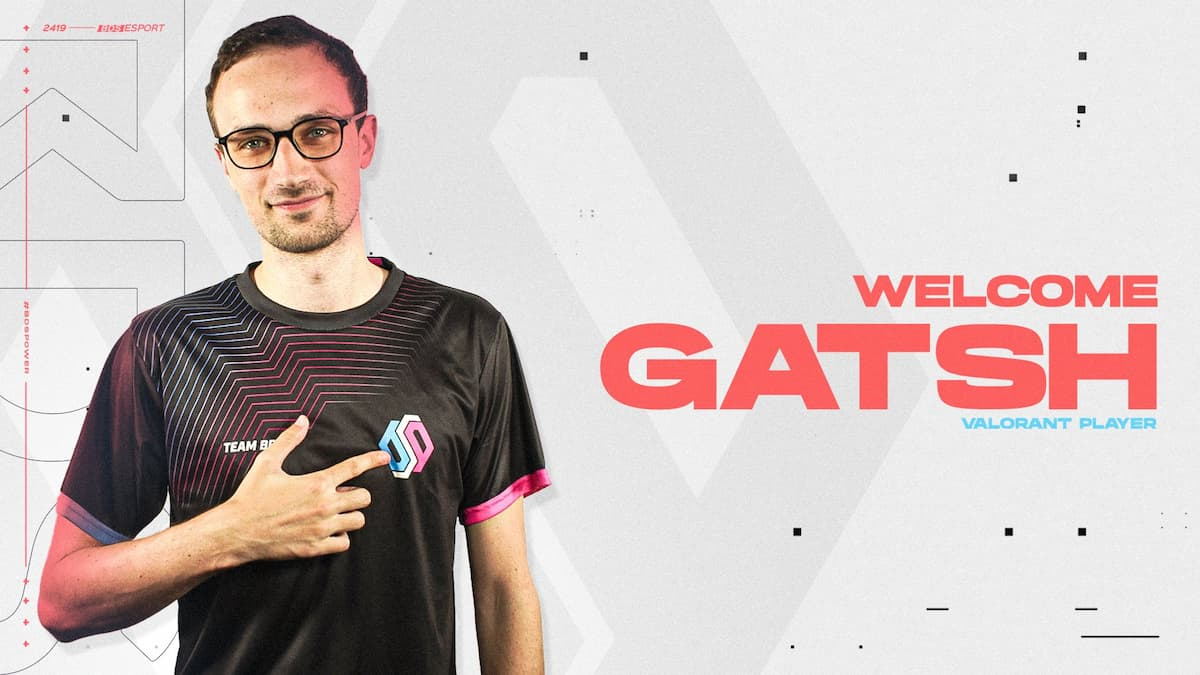 Team BDS acquires GatsH from Edelweiss Esports