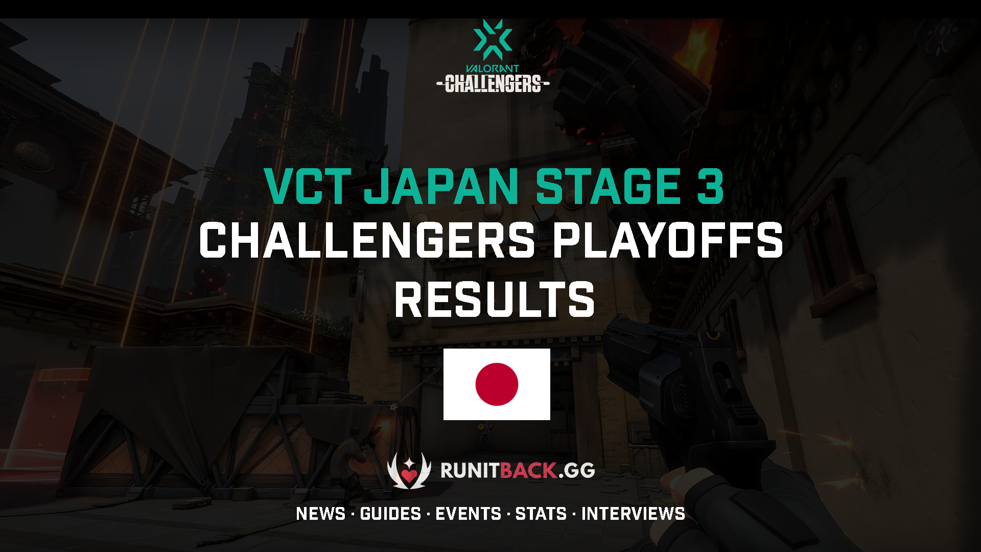 VCT Japan Stage 3 Challengers Playoffs Results