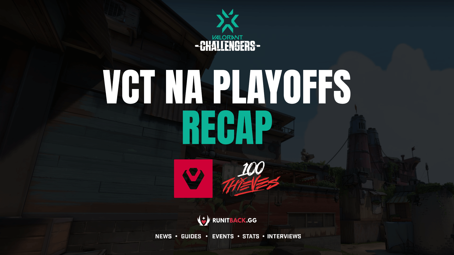 VCT NA Playoffs Grand Final: Sentinels breeze past 100 Thieves