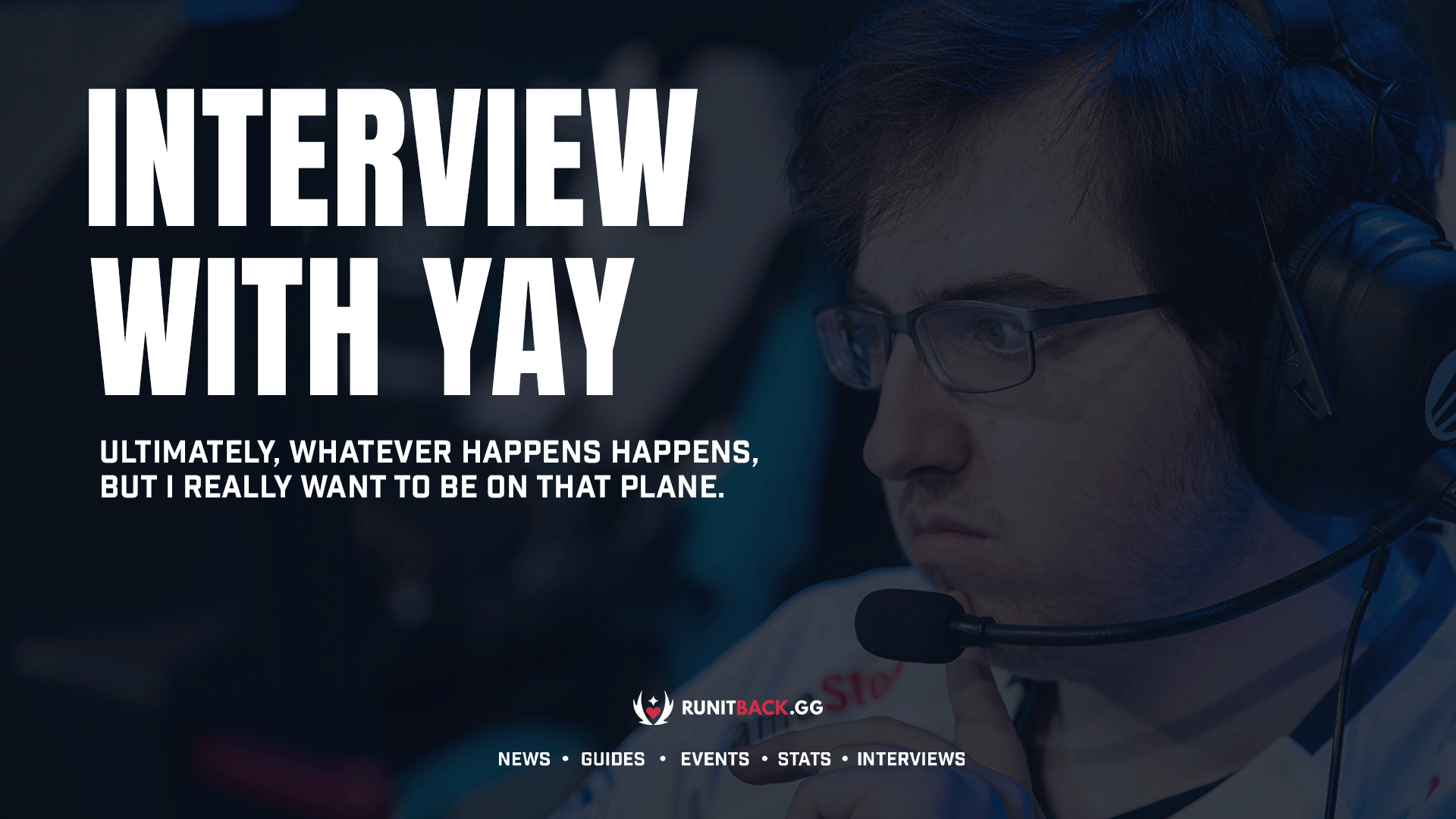 Team Envy's yay discusses move from Andbox and his dream of competing at Masters Berlin